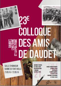 Flyer colloque 2016