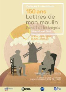 Affiche Daudet et les langues
